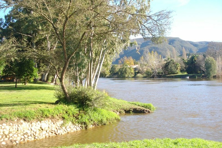 View from Bonnievale River Lodge accommodation